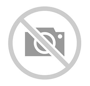 Hector Medium Pleat z klipsem mocującym, naturalny biały, biało-czarny pleciony bawełniany kabel BTC Original