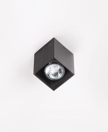 Pet Square plafon czarny Maxlight