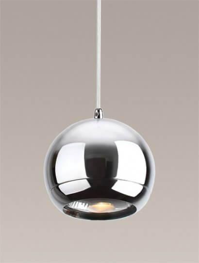 Silver lampa wisząca Maxlight