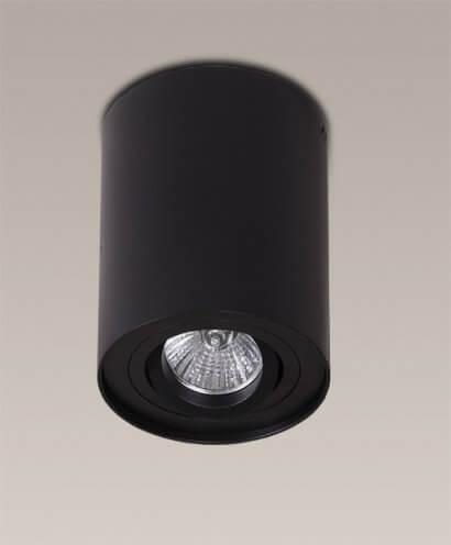 Basic Round Black oprawa natynkowa Maxlight