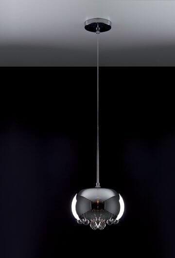 Moonlight lampa wisząca grey mała Maxlight