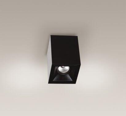 Led Basic Square plafon czarny Maxlight