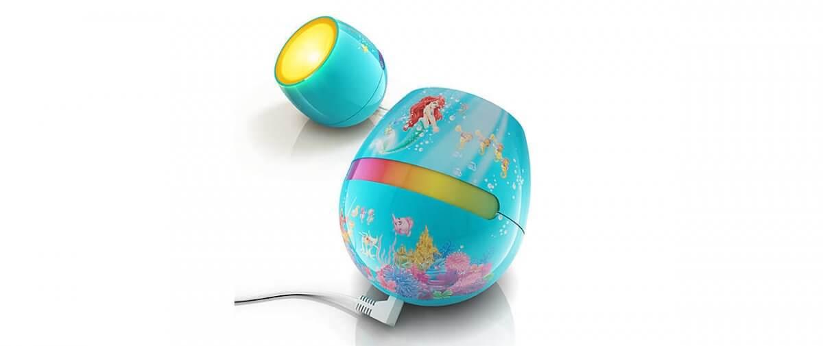 Dis Ariel Philips lampa biurkowa dziecięca Mała Syrenka